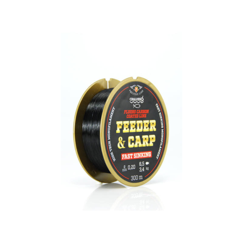 Cralusso Feeder & Carp fluoro carbon horgász zsinór 0,20 300m