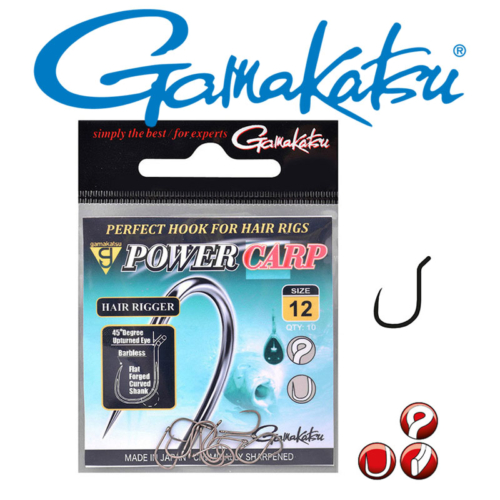 Gamakatsu Power Carp Hair rigger BL 014-es horog (10db/cs)