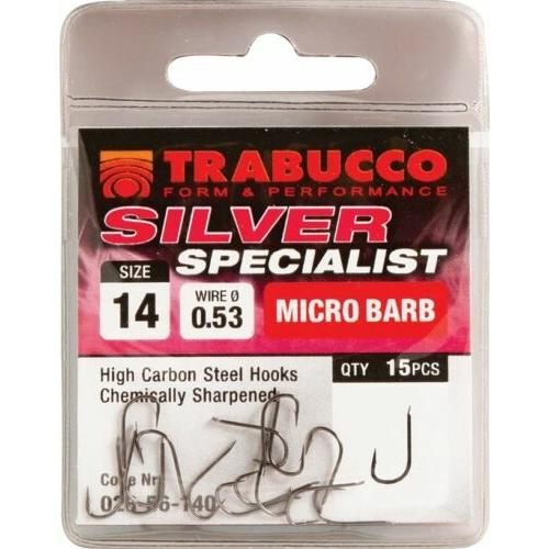 Trabucco Silver Specialist 15 db/csg 14 feeder horog