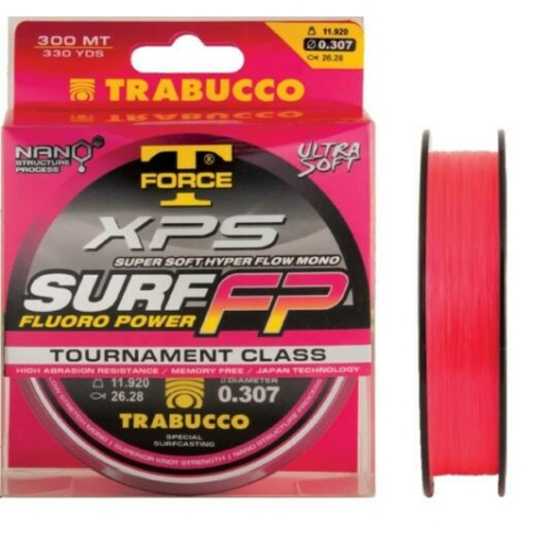 Trabucco T-Force Xps Surf Fluoro Power Monofil zsinór 300m 0,28