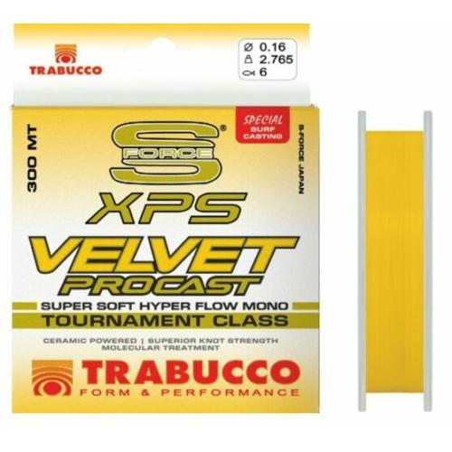 Trabucco S-Force Xps Velvet Pro Cast 300m 0,22 damil