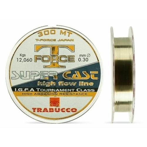 Trabucco T-Force Super Cast 150m 0,30, damil