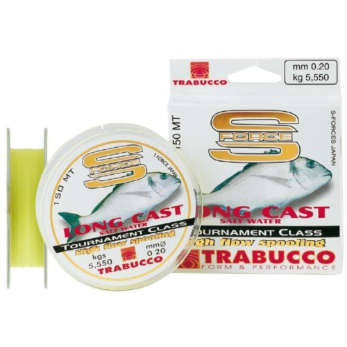 Trabucco S-Force Long Cast 150m 0,20, damil