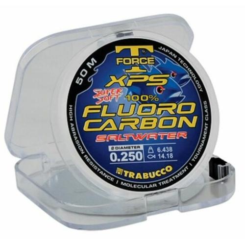 Trabucco T-Force Xps Fluorocarbon Saltwater 2013 50m előke zsinór 0,8