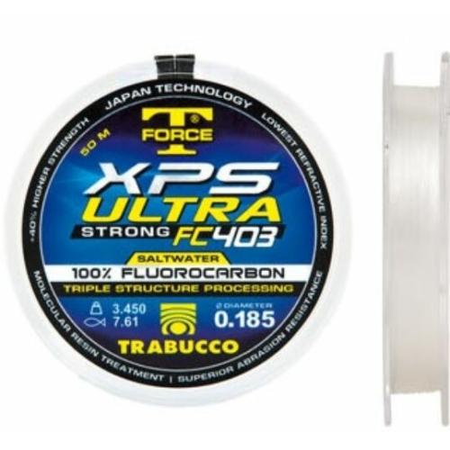 Trabucco T- Force Xps Ultra Fluorocarbon 403 Saltwater előke zsinór 50m 0,4