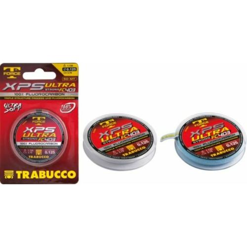Trabucco T- Force Ultra Fluorocarbon 403 50m 0,185 előke zsinór