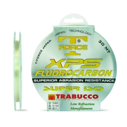 Trabucco T-Force Fluorocarbon Super Iso 20m 0,80, damil