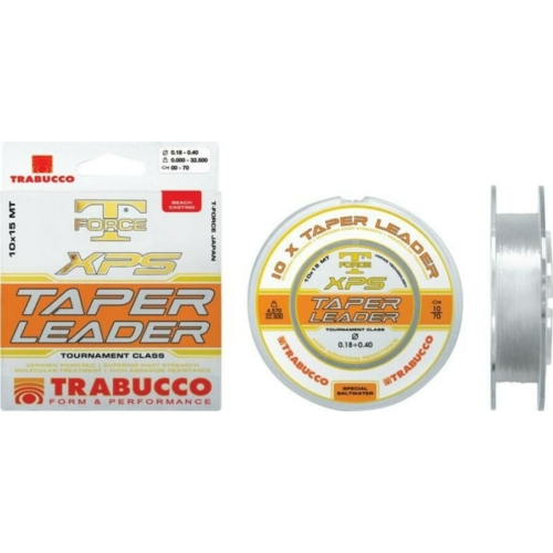 Trabucco T-Force Xps Taper Leader 10 15m 020-050, damil