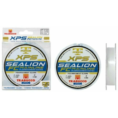 Trabucco T-Force Xps Sealion Fluorocarbon coated 250m, 0.25, zsinór