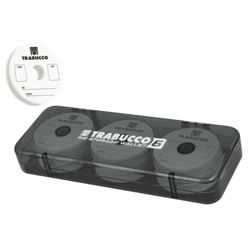 Trabucco Rig Storage Wallet 8db 70mm előketartó